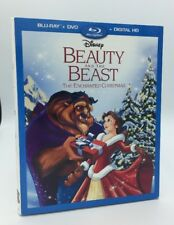 Beauty and the Beast: Enchanted Christmas (Blu-ray+DVD+Digital) NEW w/ Slipcover