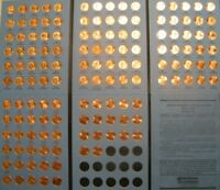 Lincoln Cent Penny Set 1959-2019 Collection (139 Coins) Choice BU Mem & Shield!