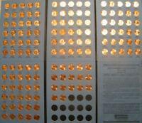 Lincoln Cent Penny Set 1959-2020 Collection (141 Coins) Choice BU Mem & Shield!