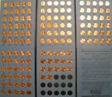 Lincoln Cent Penny Set 1959-2019 Collection (139 Coins) Choice BU Mem & Shield!