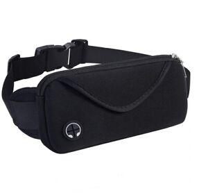 Running Bum Bag Fanny Pack Travel Waist Money Belt Zip Hiking Pouch Wallet US
