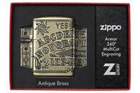 ZIPPO - BENZIN - FEUERZEUG - ARMOR CASE OUIJA BOARD - 60004897 - NEU 2020