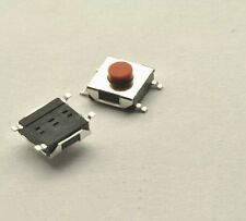 100pcs 6x6x2.5mm Tactile Push Button Switch Tact Switch Micro Switch 4-Pin SMD