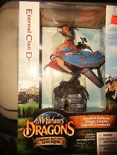 ETERNAL CLAN DRAGON FROM MCFARLANE'S DRAGONS, QUEST FOR THE LOST KING, UNOPENED