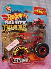 Nuovo Per 2020 Monster Camion INVADER 50/75 Rosso Stealth Smashers HOT WHEELS