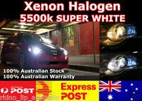 12V HB3 9005 60W XENON WHITE HALOGEN HEADLIGHT GLOBES / BULBS