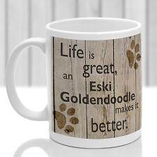Eski Goldendoodle Perro Taza, A Eski Goldendoodle Regalo, Ideal Regalo Para Perro Amante