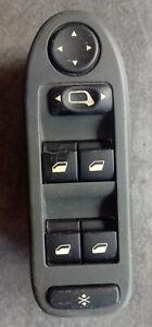 Interrupteur commande bouton leve vitre avant gauche Citroen C5 ref 96326945 ZJ