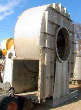 "200hp 68kcfm 10""sp SS high temp (1350F) centrifugal blower open paddle fan"