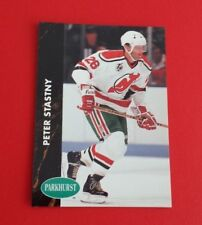 1991/92 Parkhurst Hockey Peter Stastny Card #103***New Jersey Devils***