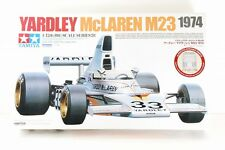 TAMIYA 1/12 YARDLEY McLAREN M23 1974 ETCHED PARTS INCLUDED BIG SCALE No,49 RARE!