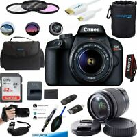 Canon EOS 4000D / Rebel T100 18MP Digital SLR Camera 18-55mm Lens ESSENTIAL KIT