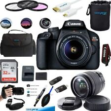 Canon EOS 4000D / Rebel T100 18MP Digital SLR Camera 18-55mm Lens ESSENTIAL KIT