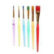 6pcs/set Plastic Fondant Cake Brushes Decorating Painting DIY Pastry Tool
