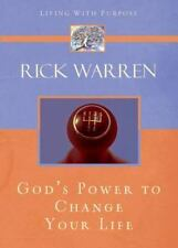 God's Power to Change Your Life (Living with Purpose) - Good - Warren, Rick -