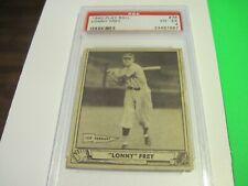 1940 PLAYBALL #76 Lonny Frey PSA 4 vg-ex Cincinnati Reds 1939 Pennant