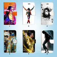 Michael Jackson Wallet Case Cover for iPhone XS MAX XR X 8 7 6 6S Plus SE 5S 070