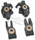 HoBao 1/8 Hyper SS - HUBS & SPINDLES (Front & Rear, axle bearings) 90006 HB-SS-C