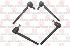 For Chevrolet Blazer 1995 Front Left Right Inner Outer Steering Tie Rod Ends
