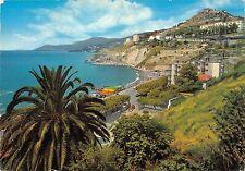 BT0946 Ventimiglia spiaggia di ponente sfondo casta azzurra      Italy