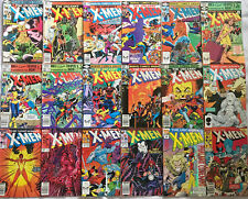 UNCANNY X-MEN#144-316 VG-VF LOT (18 BOOKS) 1980 MARVEL COMICS