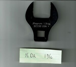 """SAE 11//16/"""" Crowfoot Wrench USA Snap on Tools ~ FC22B 3//8/"""" Drive"""