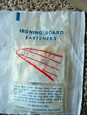 Vintage Ironing Board Cover Fasteners New Old Stock Jh Smith 1963+/- Free Ship