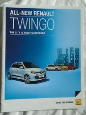 Renault Twingo range brochure Apr 2015