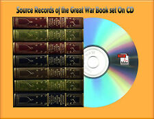 Source Records of the Great War. Volume 1 Through 7 Book On CD