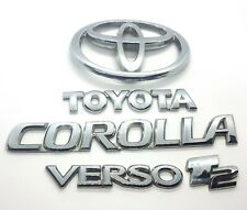 Genuine Toyota Corolla Verso, 1.6 petrol, 2003yr Badge Emblem Boot Tailgate Rear