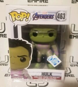 IN HAND! Funko Pop Marvel Avengers Endgame Hulk GameStop Exclusive Funko Insider