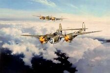 ROBERT TAYLOR Lightning Strike P-38 SOLD OUT - RARE 4 Signatures DON'T MISS THIS