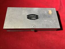 New listing Vintage Umco Corporation Model 10 Double Sided Aluminum Tackle Box - Made in Usa