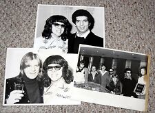 CHICAGO 1970's MSG Ticket Sales Award 3pc Photo Lot Peter Cetera
