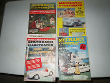 Mechanix Illustrated (4 Mag. LOT) March, April, May, August 1958 (VG / VG+)