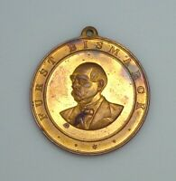 ND (c. 1898) Imperial Germany Otto von Bismarck Commemorative Medal.