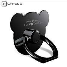 Ring Holder Stand Finger Grip Metal Cute Bear For iPhone X 8 Samsung Galaxy S8