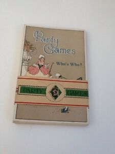 Party Games Who's Who? Vintage The Dainty Series