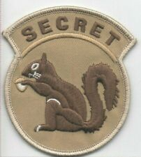 """BuckUp Tactical Morale Patch Hook Secret Squirrel Coyote 3"""" sized"""