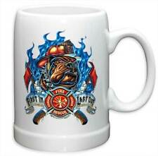 FIREFIGHTER - FIRST IN LAST OUT - BEER STEIN MUG - BRAND NEW 20 OUNCES FF2063PS