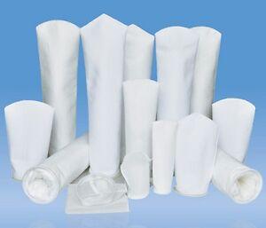"Industrial Filter Sock Bags 1-200um Micron Mesh PP/PE 4""x9"" 4""x15"" 6""x20""New"