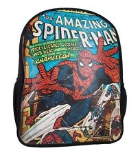 Spider-Man Classic Cover Marvel Comics Backpack Bag Marvel Comics Licensed