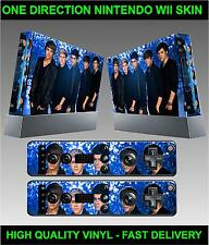 NINTENDO CONSOLE WII autocollant peau One Direction Style Skin & 2x manette