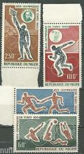NIGER yvert # PA 45/48 ** MNH Set Tokyo 1964