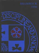 Detroit Catholic Central High School yearbook 1990