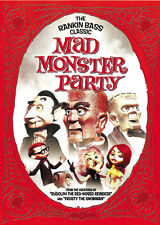 Mad Monster Party? (1969) Boris Karloff Horror movie poster print