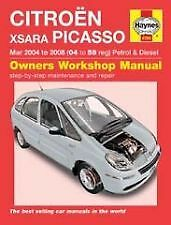 New Haynes Manual Citroen Xsara Picasso 04-08 Car Workshop Repair Book 4784