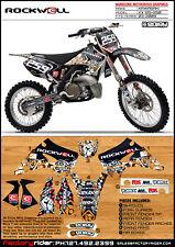 2003-2009 KAWASAKI KX 125 250 Rockwell Motocross Graphics Dirt Bike Decal