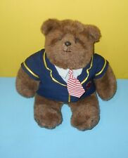 "Gund The Last Elegant Bear 14"" Plush Abiner Smoothie Paws Prep 1983 Dennis Kyte"