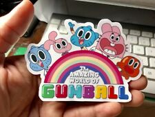 The Amazing World Of Gumball Characters Laptop Sticker